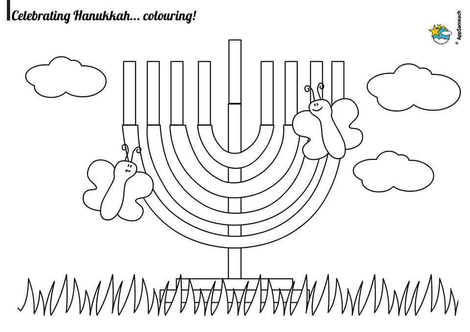 Hanukkah Coloring Pages Jewish Traditions For Kids