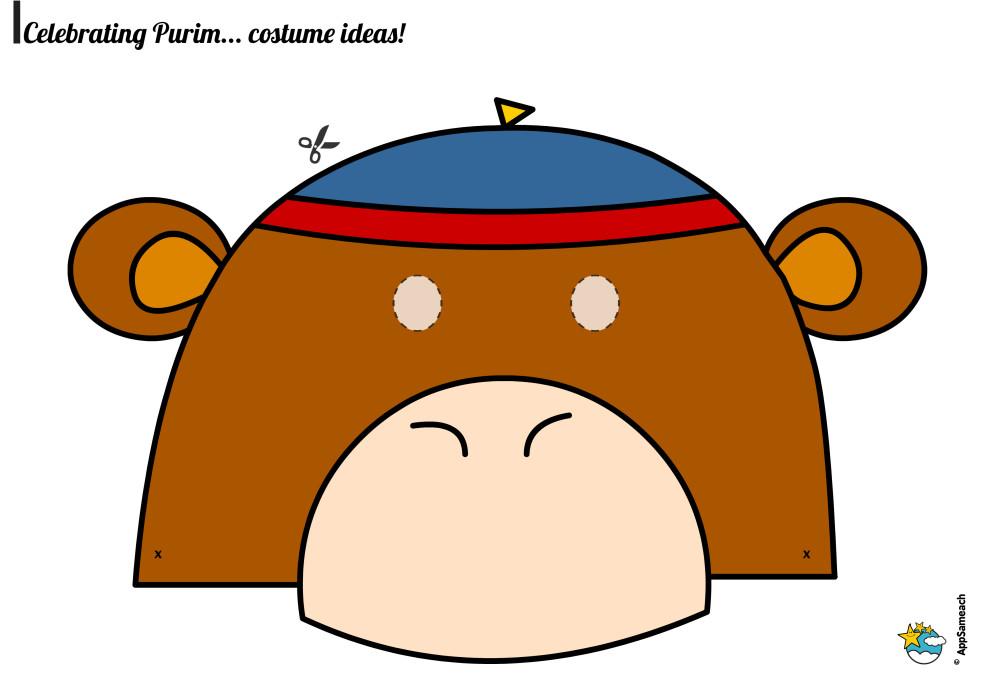 Purim_Mask_Monke_0118