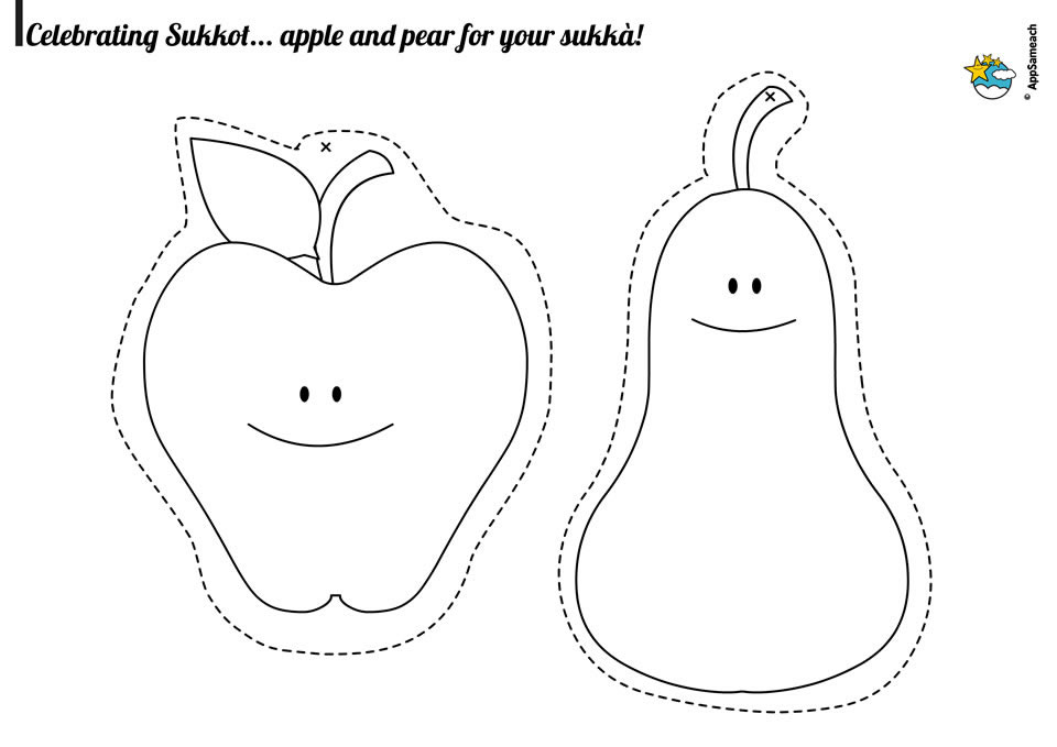 Sukkot-Craft-Fruits