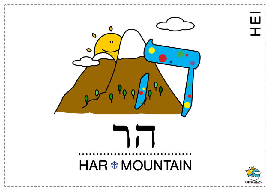 Alefbet Coloring Pages-Learn Hebrew.