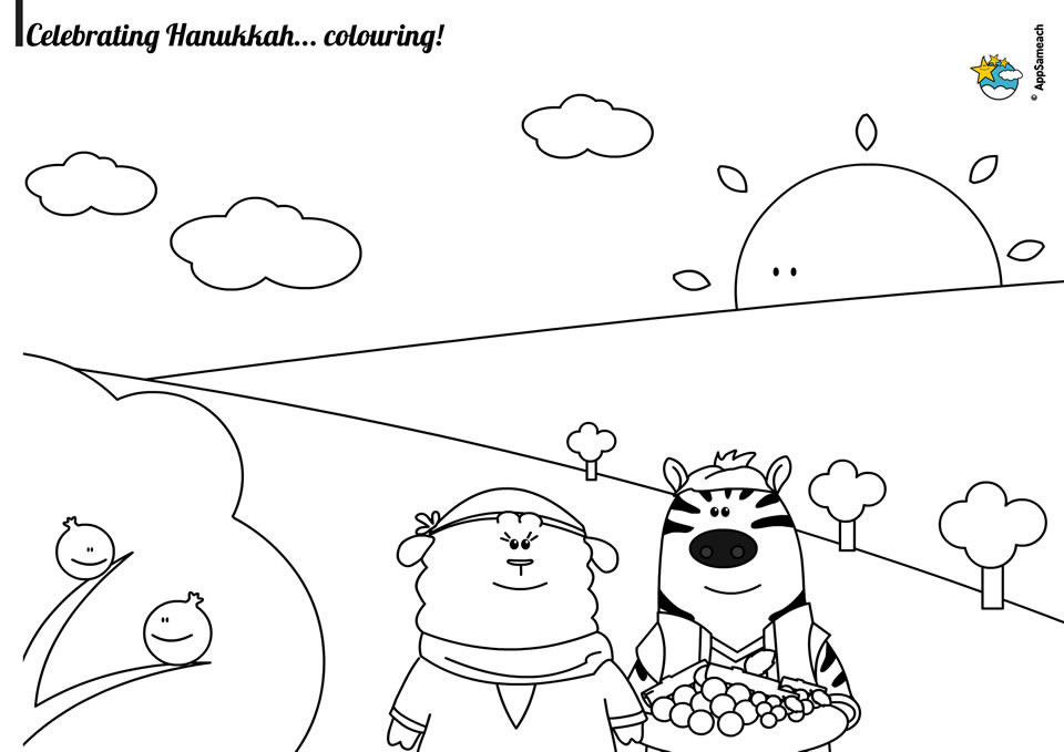 printable coloring pages maccabees | Hanukkah Maccabees Coloring Page - Jewish Traditions for ...